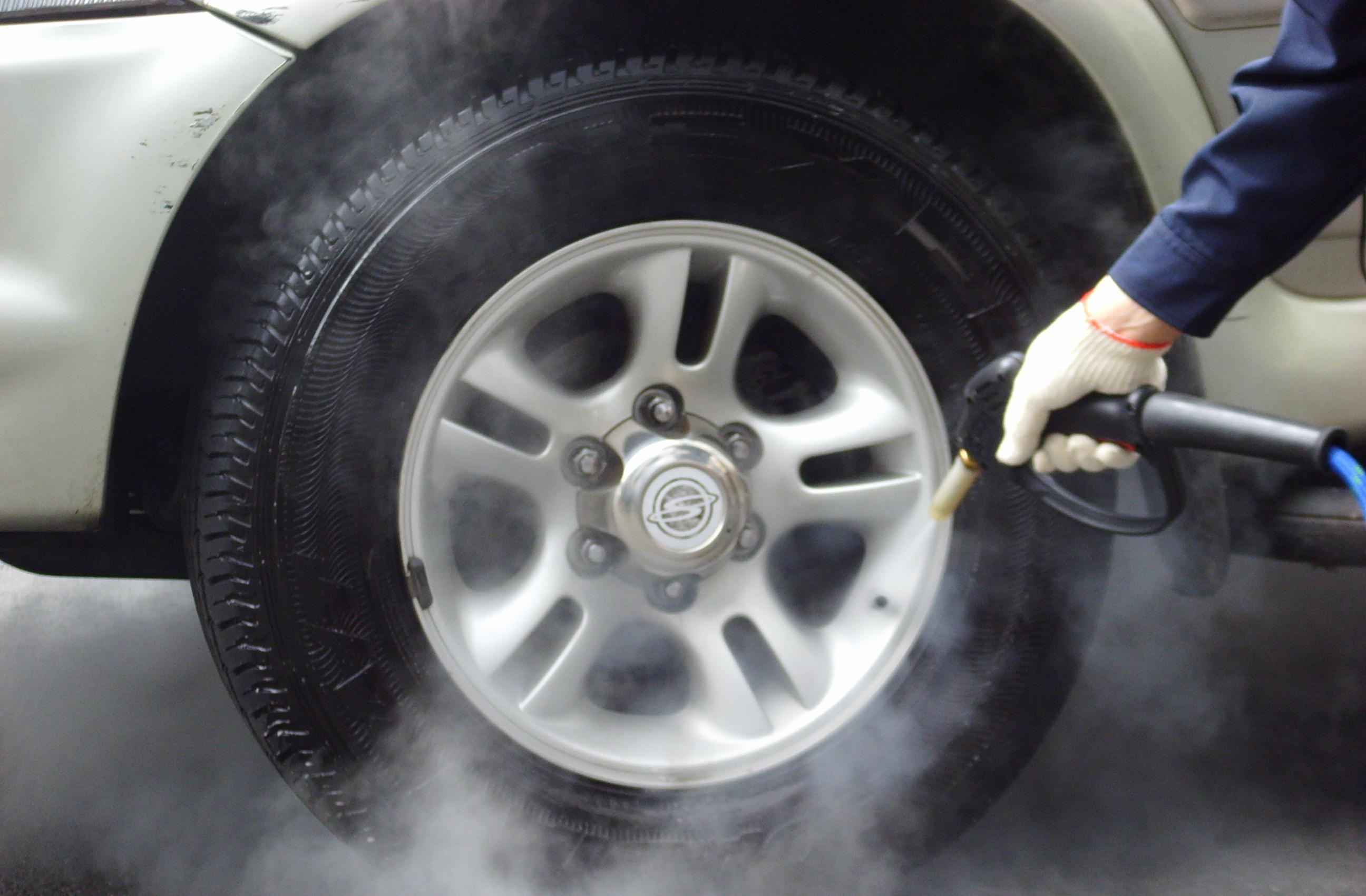 Limpieza coches sin agua
